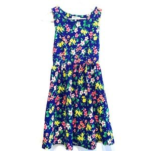 Monteau Dress with Flowers